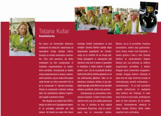 sommelierska selekcij Tatjana Kušar